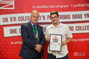 "DJJ's Daniel Pereira wins ""Top Mechanical Engineering Apprentice of the Year Award"""